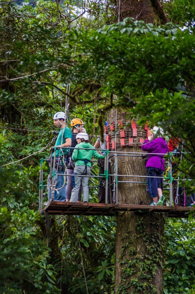 zip line canaopy monteverde