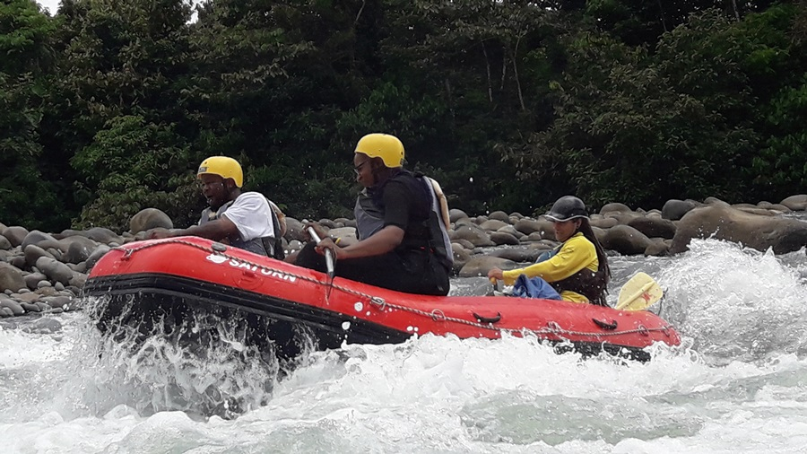 Rafting from Arenal Volcano