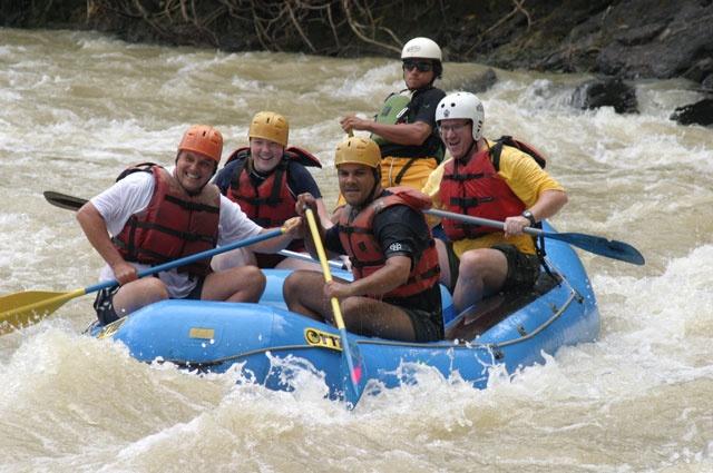 manuel antonio rafting