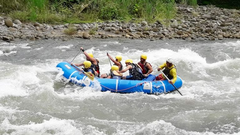 rafting from monteverde