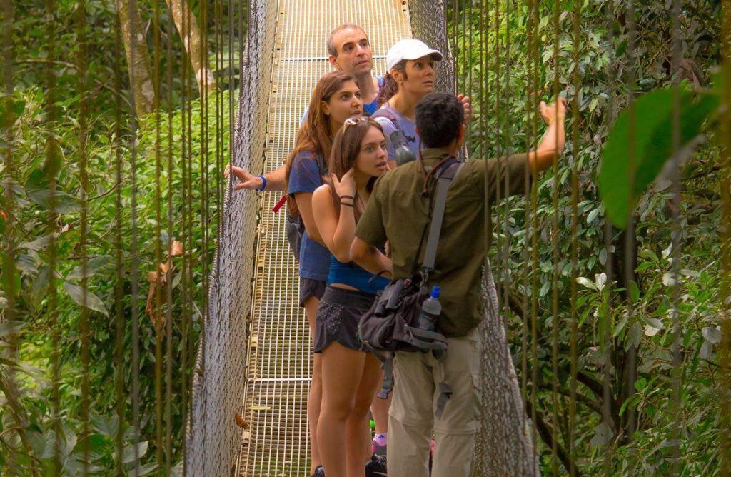 Arenal Volcano Hanging Bridges
