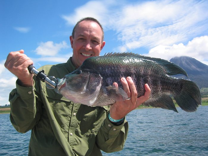Arenal Lake Fishing Tours Costa Rica