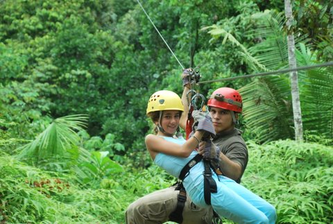 Zip Line Canopy Tour Manuel Antonio