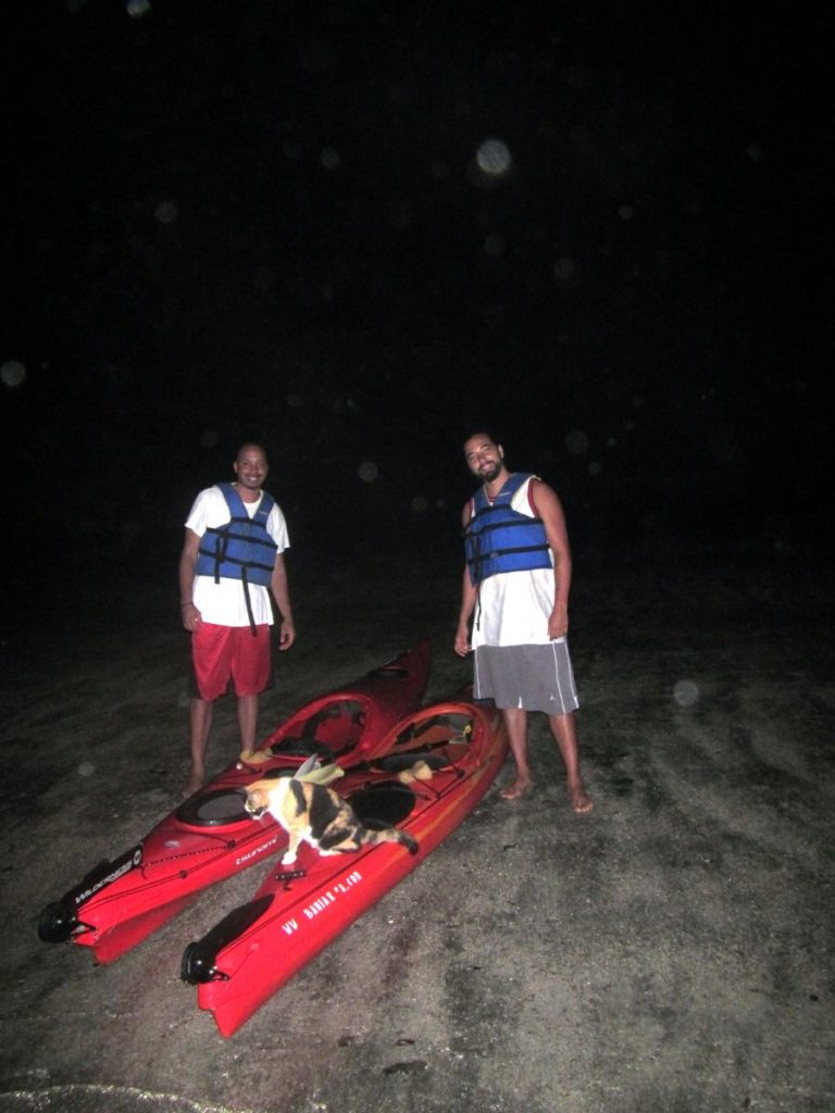 Costa Rica Bioluminescent kayak tour 6