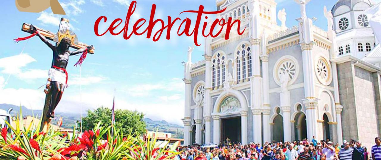 Costa Rica Holiday August 2 La Virgen de Los Angeles