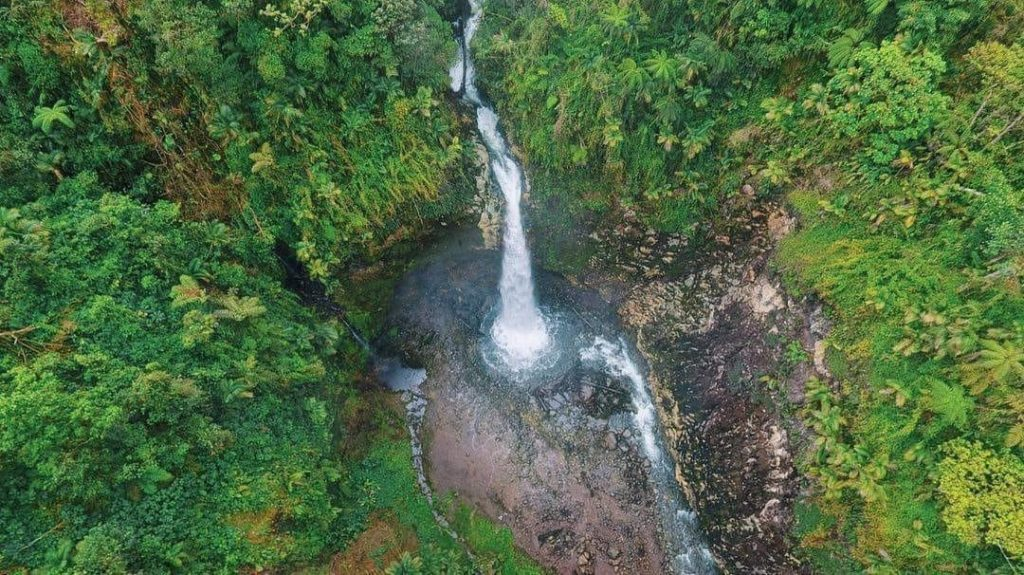 Toro Waterfall Costa Rica
