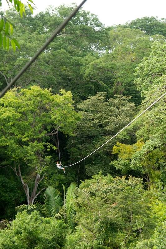 Samara Beach Zip Line Canopy Tour