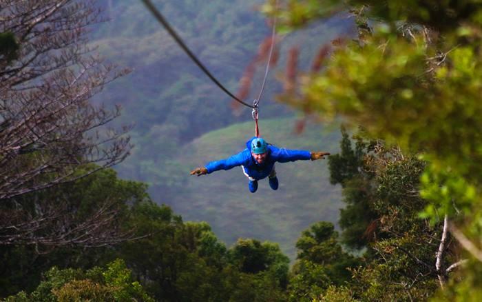 Superman Canopy Monteverde 4