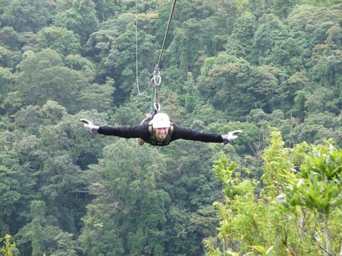 Superman Canopy Monteverde