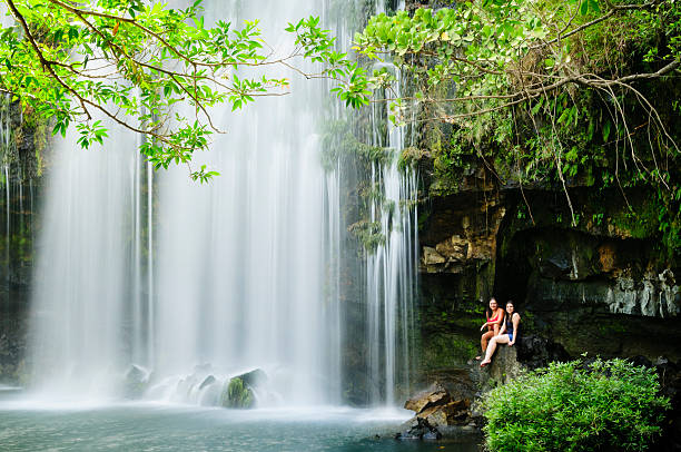 Cortez Waterfall Bagases Costa Rica