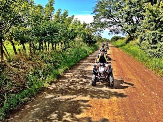 Jaco Beach ATV Tour Quad Bikes FourTrax
