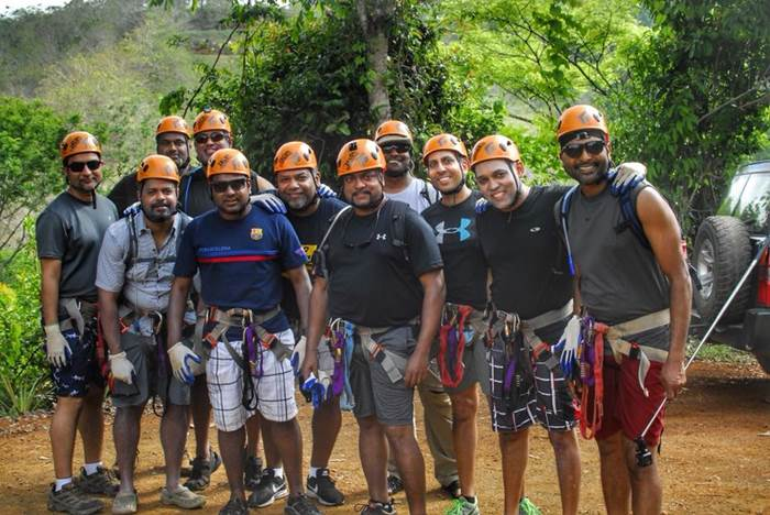 Jaco Beach Waterfall Rappelling Tour Canyoneering & Zip Line Canopy Tour